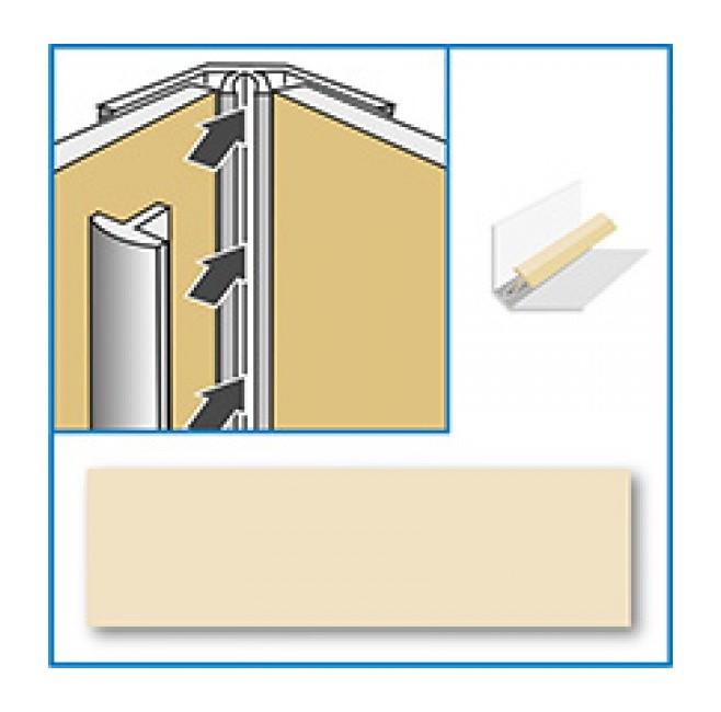 Image of Aquabord Internal Corner - Cream