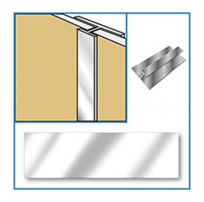 Image of Aquabord Joint Trim - Chrome