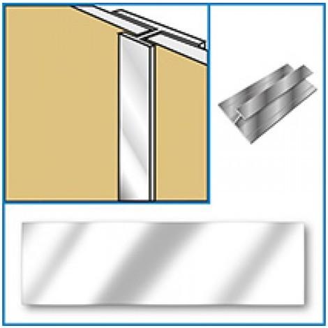 Aquabord Joint Trim - Chrome