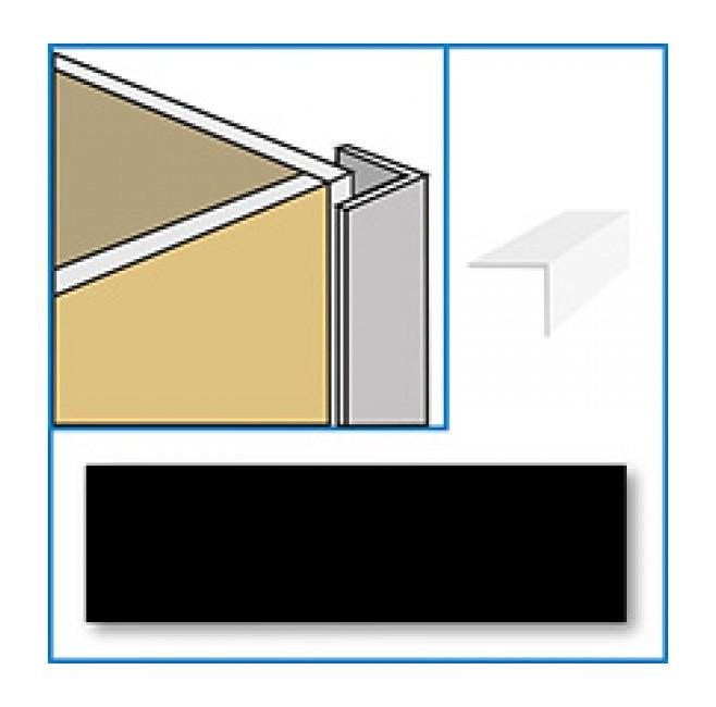 Image of Aquabord PVC External Corner - Black