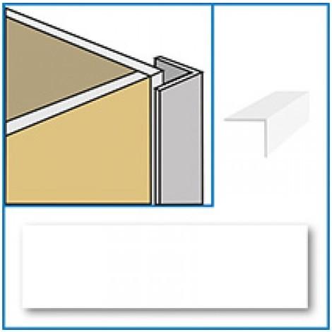 Aquabord PVC External Corner - Cream