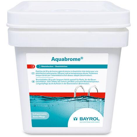 brome lent pastille 5kg - aquabrome - bayrol
