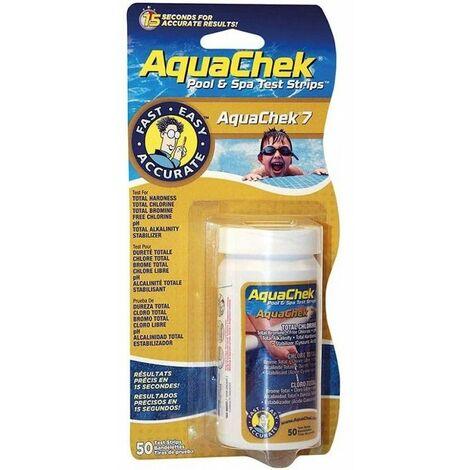 Aquachek 7 fonctions 50 bandes de Aquachek - Analyse de l'eau