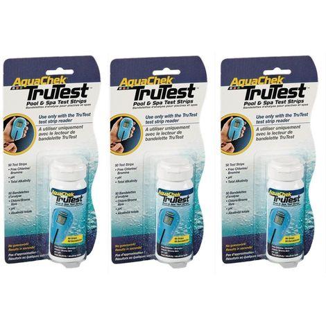 AquaChek TruTest 150 Digital Teststreifen (3 Dosen á 50 TestStrips)
