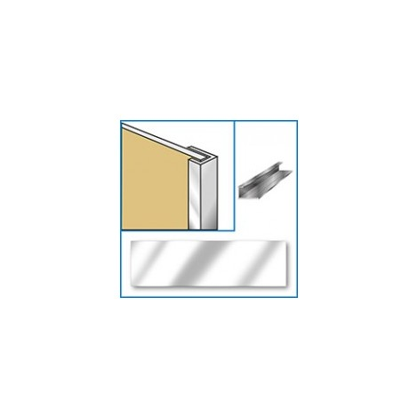 Aquaclad Edge Trim - Chrome