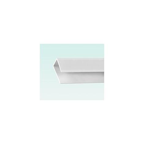 Aquaclad PVC Edge Trim - White