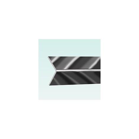 Aquaclad PVC External Corner - Silver
