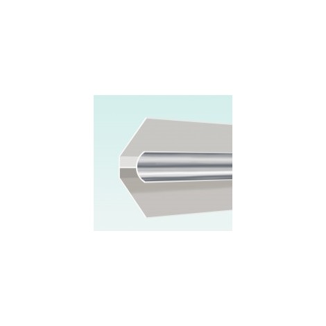 Aquaclad PVC Internal Corner - Silver