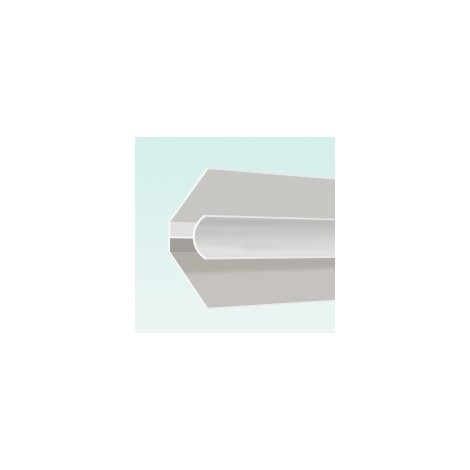 Aquaclad PVC Internal Corner - White