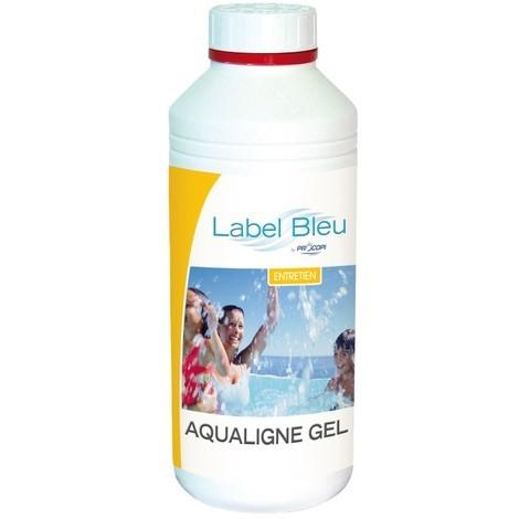 Aqualigne nettoyant ligne d'eau - gel alcalin - 1 litre