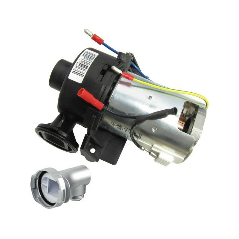 Image of 910617 Aquastream Pump Assembly with Chrome Outlet 2003 Onwards - Aqualisa