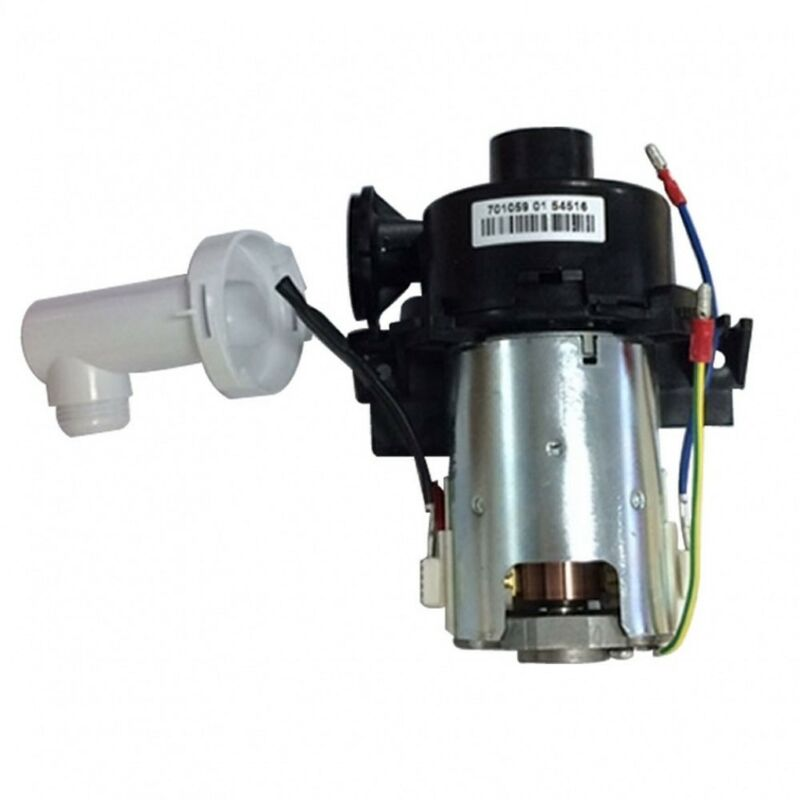 Image of 910618 Aquastream Pump Assembly with White Outlet 2003 Onwards - Aqualisa