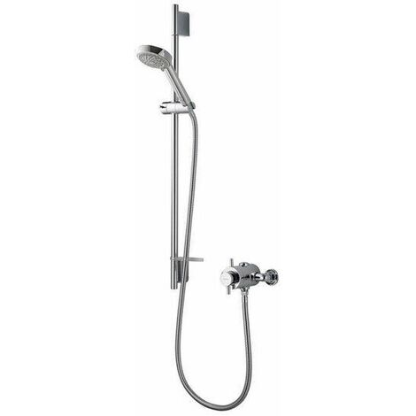 Aqualisa Aspire DL Exposed Thermostatic Shower Adjustable Head