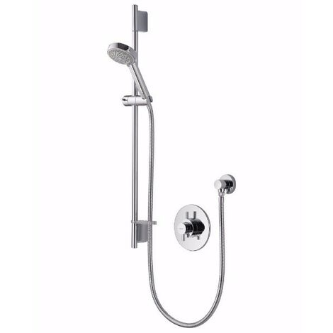 Aqualisa Aspire Dual Concealed Mixer Shower with Shower Kit