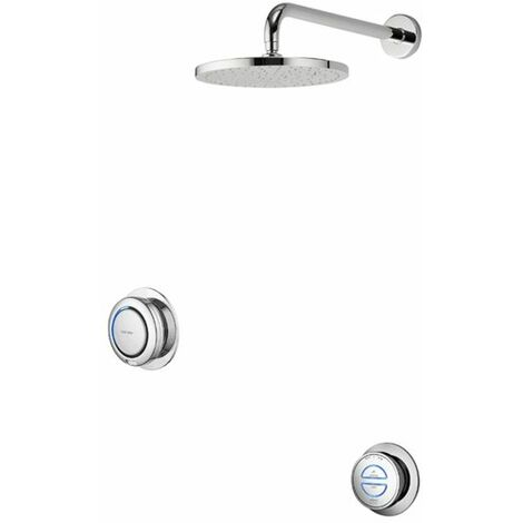 Aqualisa Digital Concealed Shower Gravity Pumped Fixed Head Thermostatic Remote