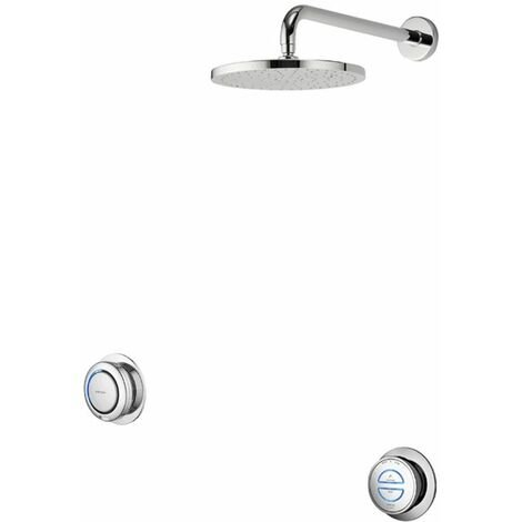 Aqualisa Digital Concealed Shower High Pressure Combination Remote Fixed Head