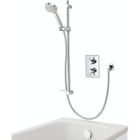 Aqualisa Dream concealed thermostatic mixer shower with bath filler