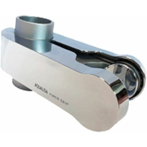 Aqualisa Handset Holder (Pinch Grip) 25mm Satin Chrome