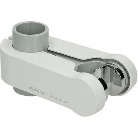 Aqualisa Handset Holder (Pinch Grip) 25mm White