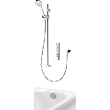 Aqualisa Isys Concealed Digital Shower & Bath Overflow Filler