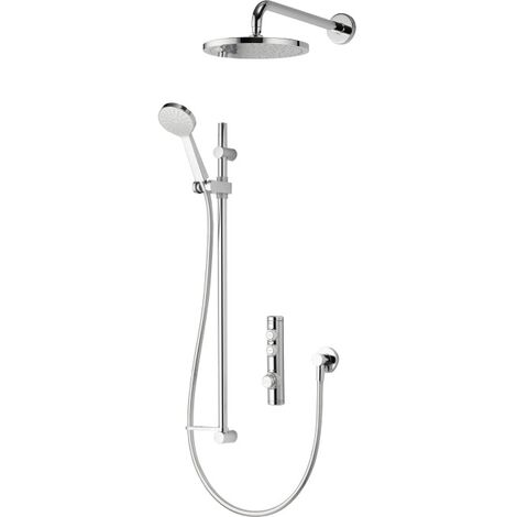 Aqualisa iSys Concealed Digital Shower Chrome Head & Handset