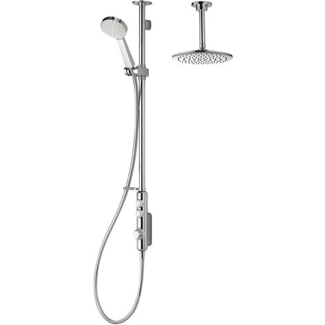 Aqualisa iSys Exposed Digital Shower Drencher Head & Handset