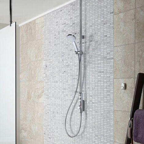 """main image of """"Aqualisa iSystem Smart Shower Exposed Valve Adjustable Single Head Gravity Pump"""""""