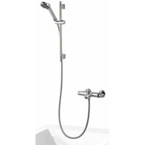 Aqualisa Midas 100 Thermostatic Bath Shower Mixer Adjustable Head