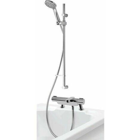 Aqualisa Midas 220 Exposed Bath Shower Mixer - MD220BSM