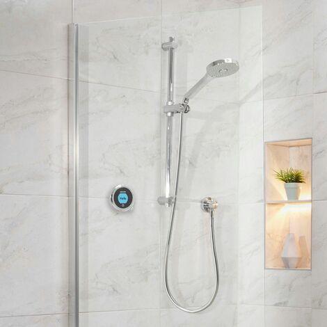 Aqualisa Optic Q Smart Shower Concealed Adjustable Head High Pressure/Combi
