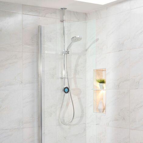 Aqualisa Optic Q Smart Shower Exposed Adjustable Head High Pressure/Combination