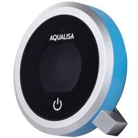 Aqualisa Q Accent Ring Pack Controller & Handset Lagoon Blue