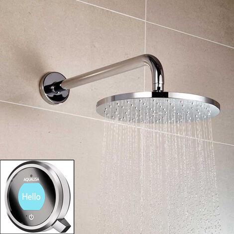 Aqualisa Q Shower Concealed Fixed Head Chrome HP/Combi