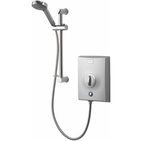 "main image of ""Aqualisa Quartz 10.5kw Electric Shower Chrome 5 Spray Shower Head"""
