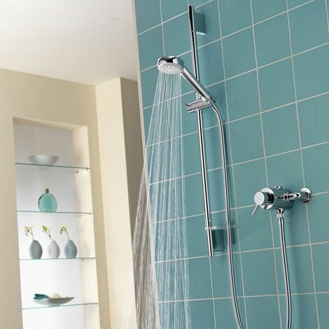 Aqualisa Siren SL Exposed Mixer Shower Chrome - SRN001EA