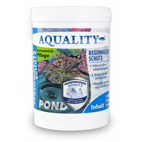 AQUALITY Koi pH Stabil Plus Regenwasser-Schutz für den Teich