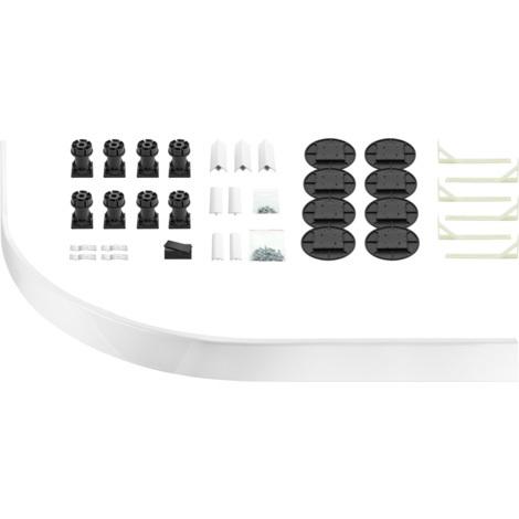 Aqualux 35mm Shower Tray Easy Plumb Kit Quad / Off Set Quad Plumb Kit
