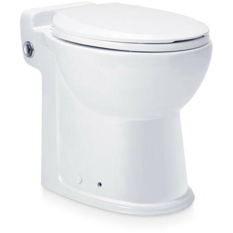 Aquamatix - Toilette céramique compacte avec pompe broyeuse intégrée 600W 300L/min - Compact