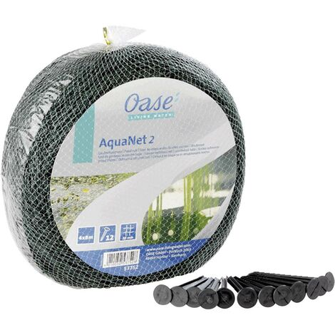 Aquanet Filet de protection 3 x 4 m avec 8 piquets Oase