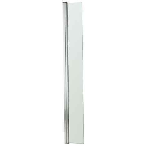 Aquariss 250mm Wet Room Shower Return Panel with 8mm Easy Clean Glass
