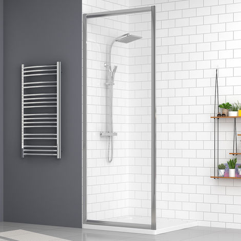 Aquariss 760mm Shower Enclosure Side Panel with Easy Clean Glass