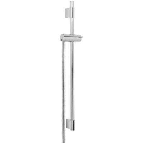 Aquariss Shower Rail and Hose Set - 22mm Round