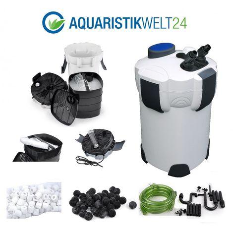 Aquarium Außenfilter 1000 L/h,1400 L/h & 2000 L/h, 3-4 Stufen 400l-1000l Becken