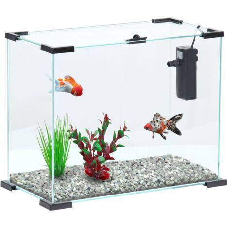 "main image of ""Aquarium avec filtre Nanolife first 24 blanc - Blanc"""