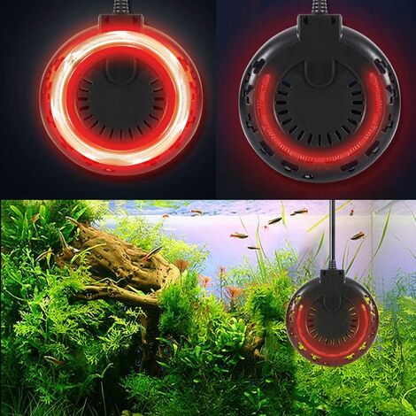 Aquarium Carbon Fiber Adjustable Far Infrared Heater Submersible Thermostat Heater with 2.5m Power Cable LED Temperature Display 300W