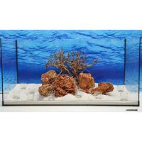 Aquarium Deko Komplettset- Siennawurzel Steine Wasserpflanzen Aquascaping Nr.211