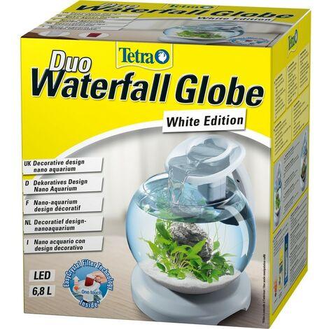 Aquarium Duo Waterfall Globe de 6,8L - Tetra - blanc