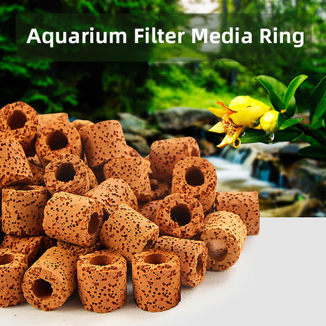 Aquarium Filter Media Ring Bio Ring for Aquarium Filter 20PCS
