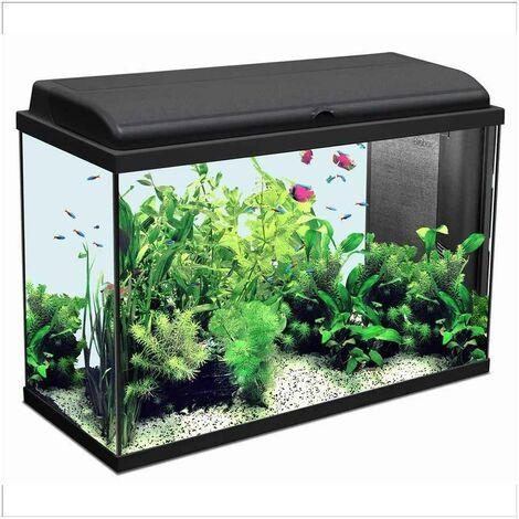 Aquarium Iban - Longueur de 80cm - Noir