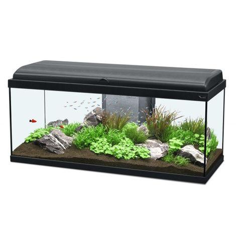 Aquarium noir Aquadream Aquatlantis Modèle 100 LED Contenance 100 litres